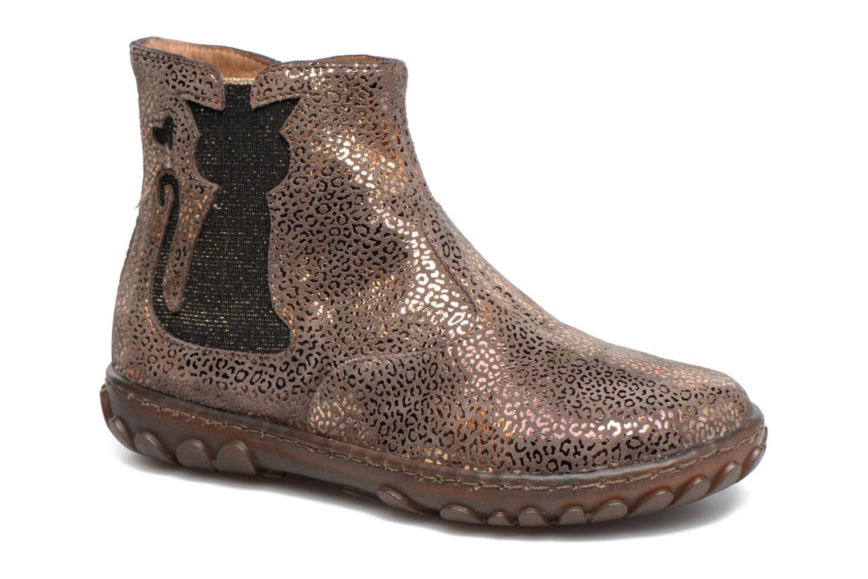 Boots en enkellaarsjes Pom d Api CUTE BOOTS CAT Beige detail