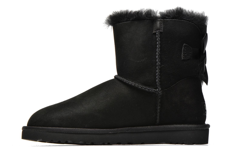 Bottines et boots UGG Mini Bailey Bow Noir vue face