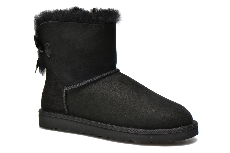 Bottines et boots UGG Mini Bailey Bow Noir vue détail/paire