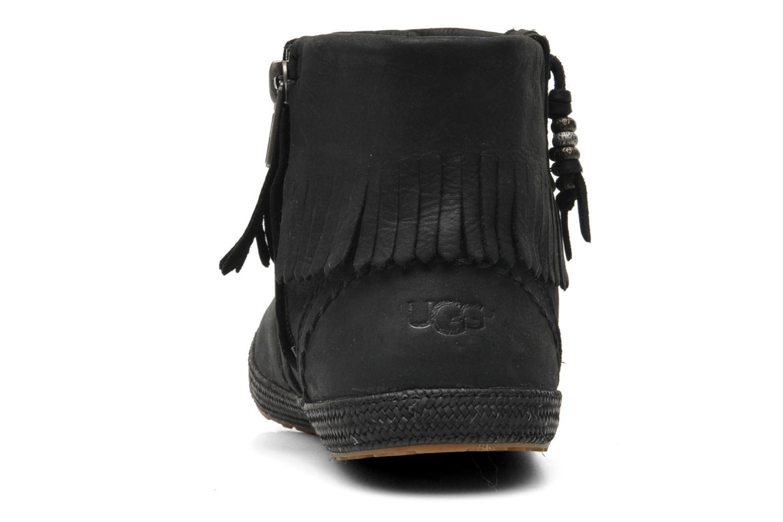 Stiefeletten & Boots UGG Tiana schwarz ansicht von rechts