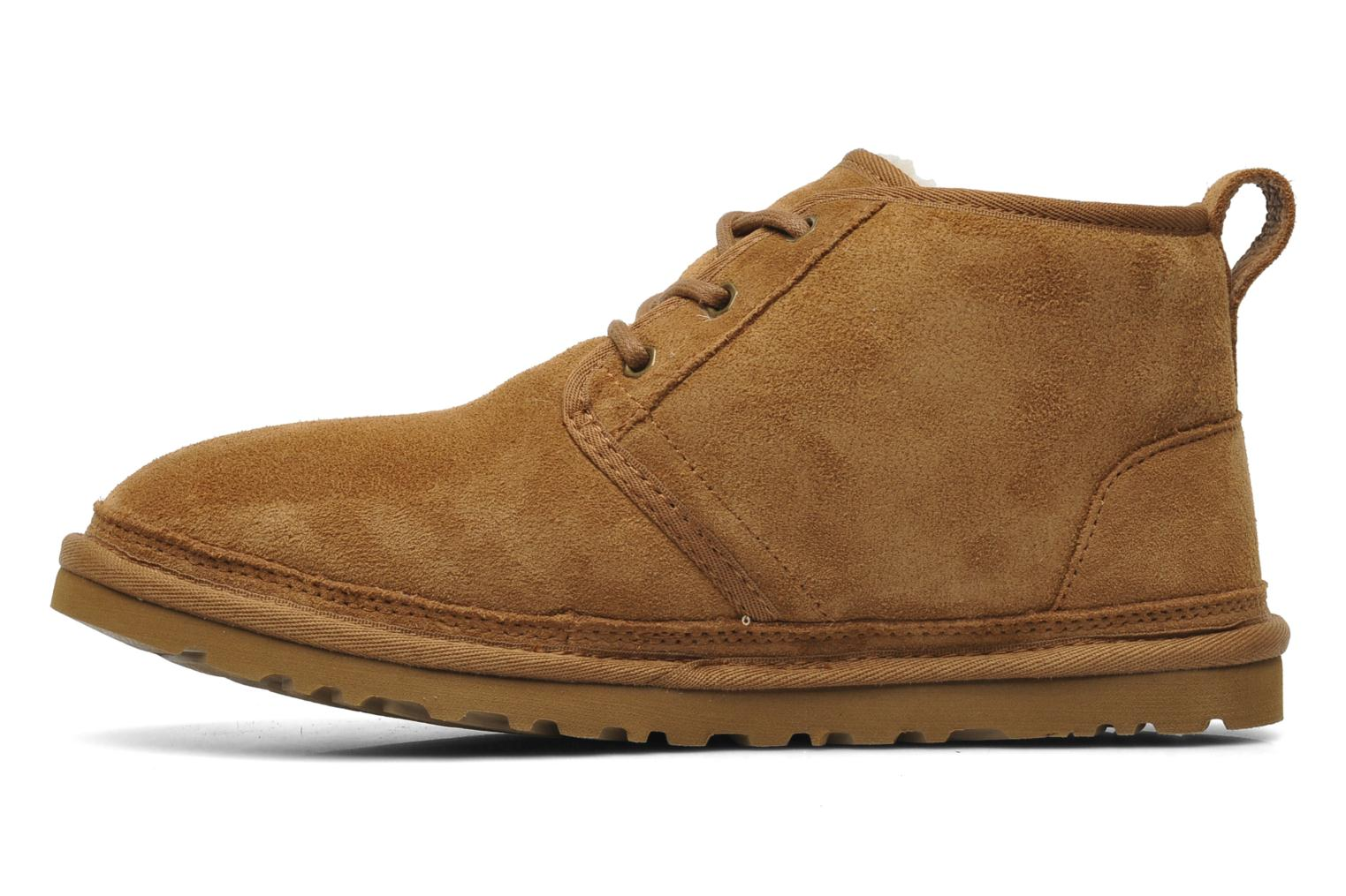 Lace-up shoes UGG Neumel Brown front view