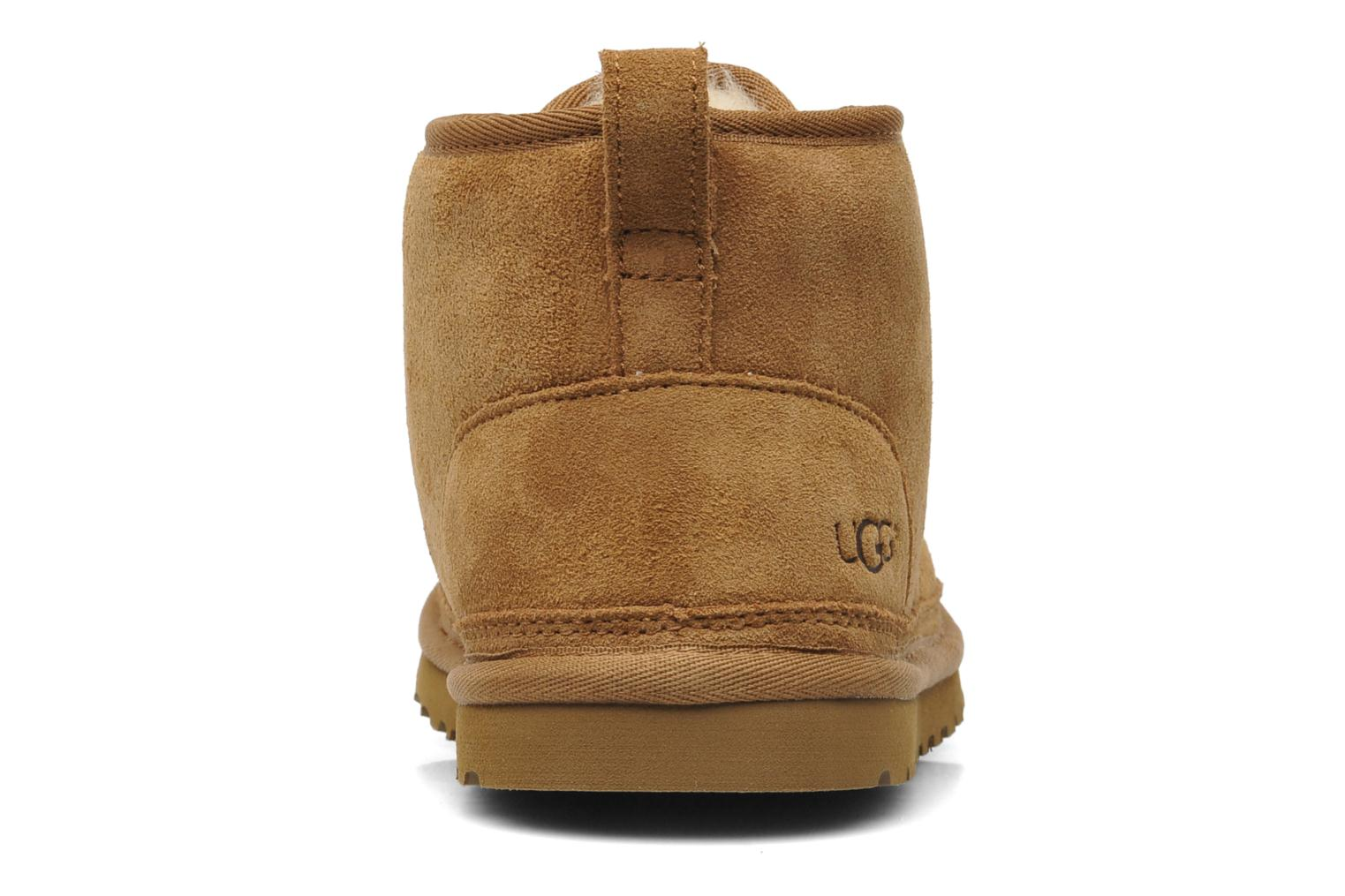 Lace-up shoes UGG Neumel Brown view from the right