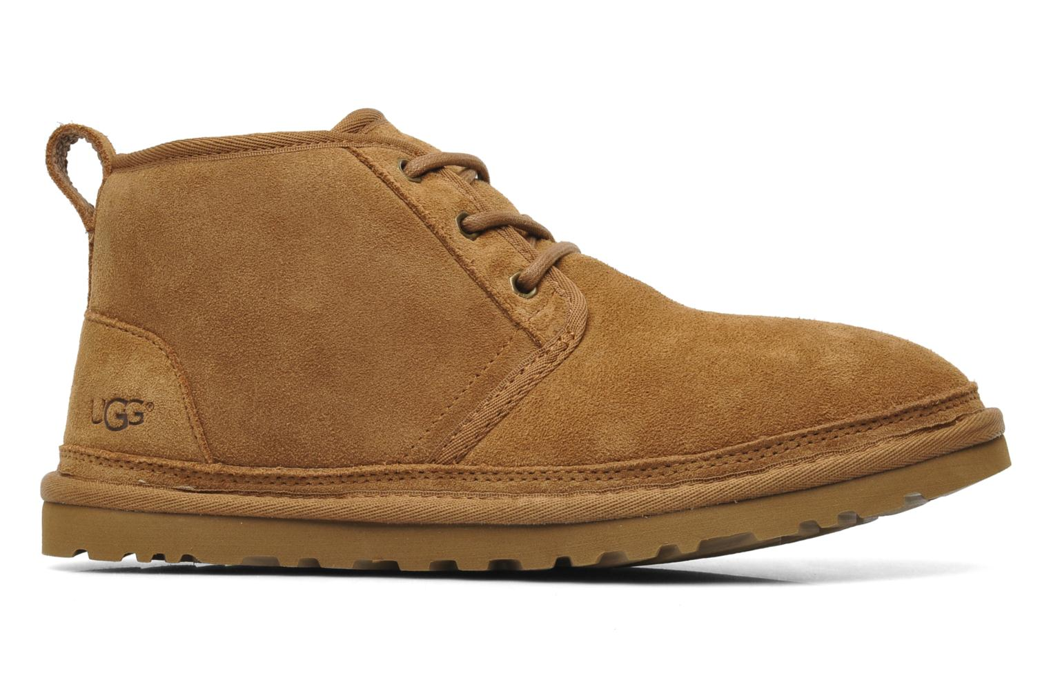 Lace-up shoes UGG Neumel Brown back view