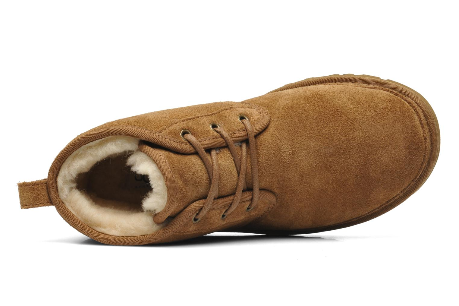 Lace-up shoes UGG Neumel Brown view from the left