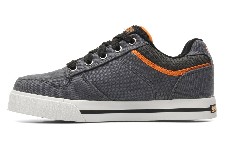 Sneaker Skechers Vert II Kick Flipz grau ansicht von vorne