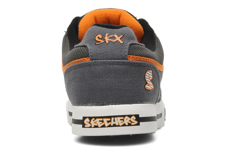 Sneaker Skechers Vert II Kick Flipz grau ansicht von rechts