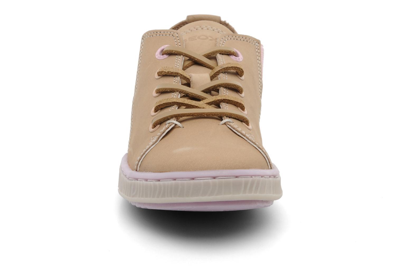 Sneaker Geox JR Y Splinter A beige schuhe getragen