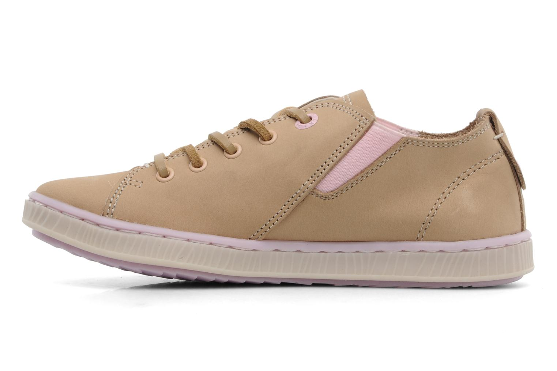 Sneaker Geox JR Y Splinter A beige ansicht von vorne