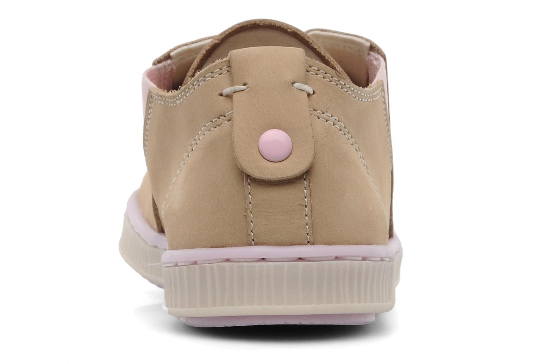 Sneaker Geox JR Y Splinter A beige ansicht von rechts