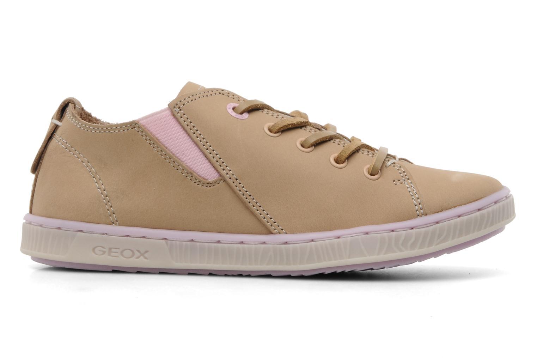 Sneaker Geox JR Y Splinter A beige ansicht von hinten
