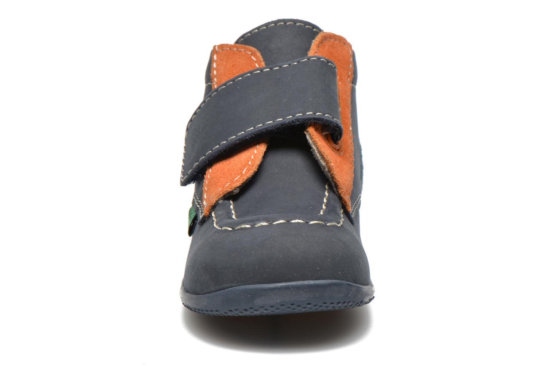 Schoenen met klitteband Kickers Bono Blauw model