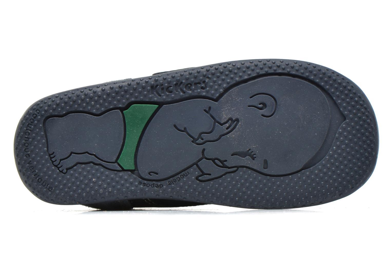 Schoenen met klitteband Kickers Bono Blauw boven