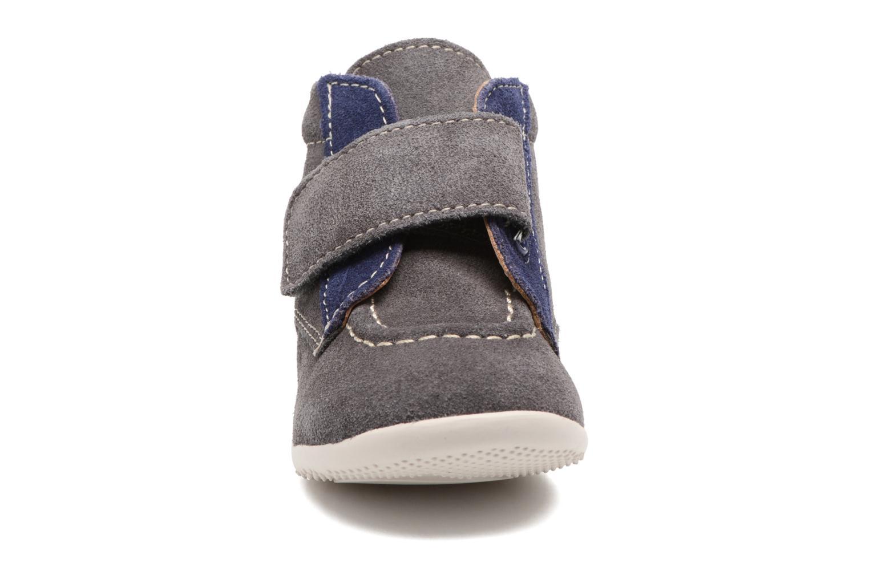Schoenen met klitteband Kickers Bono Grijs model