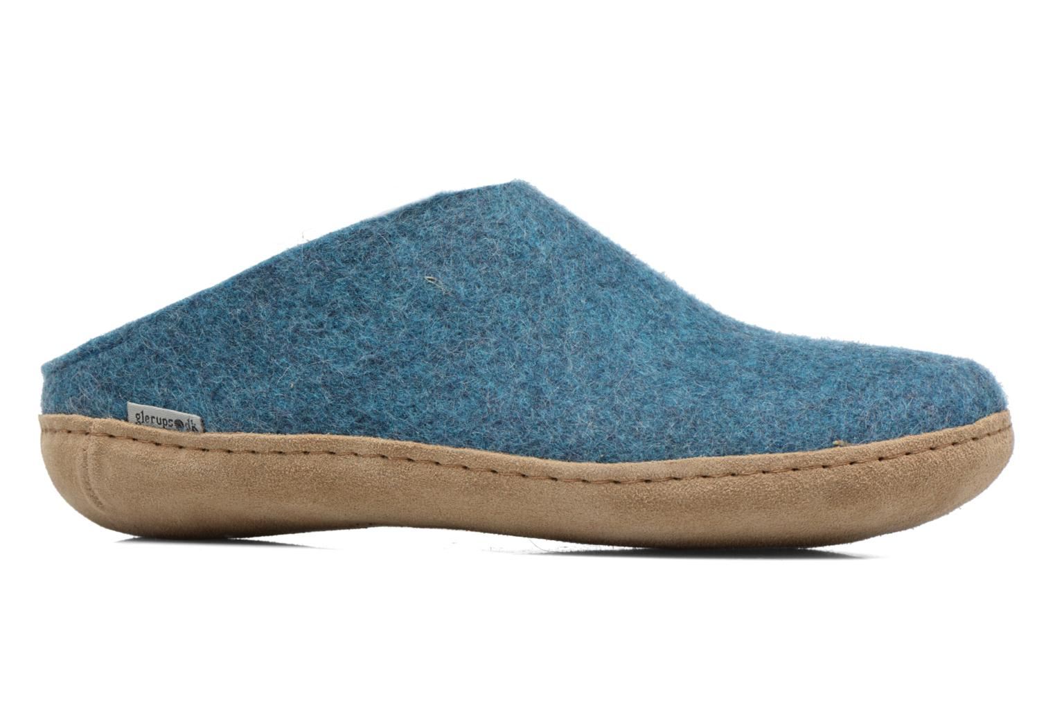 Slippers Glerups Piras M Blue back view