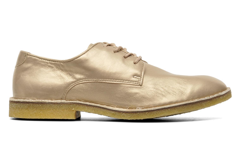 Chaussures à lacets Kickers Neochic Or et bronze vue derrière