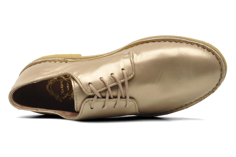 Chaussures à lacets Kickers Neochic Or et bronze vue gauche