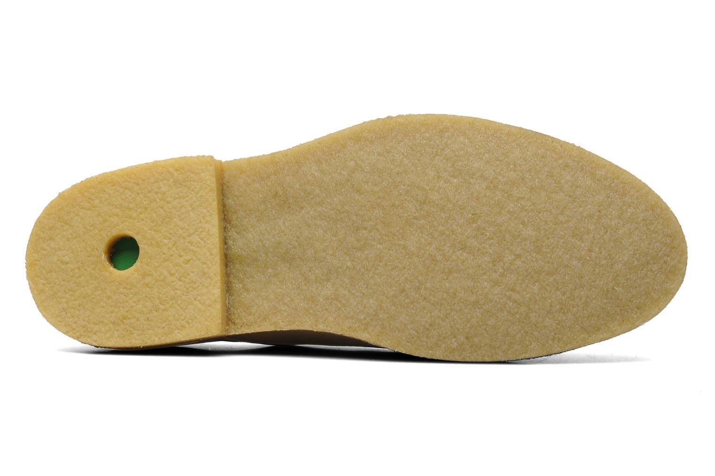 Chaussures à lacets Kickers Neochic Or et bronze vue haut
