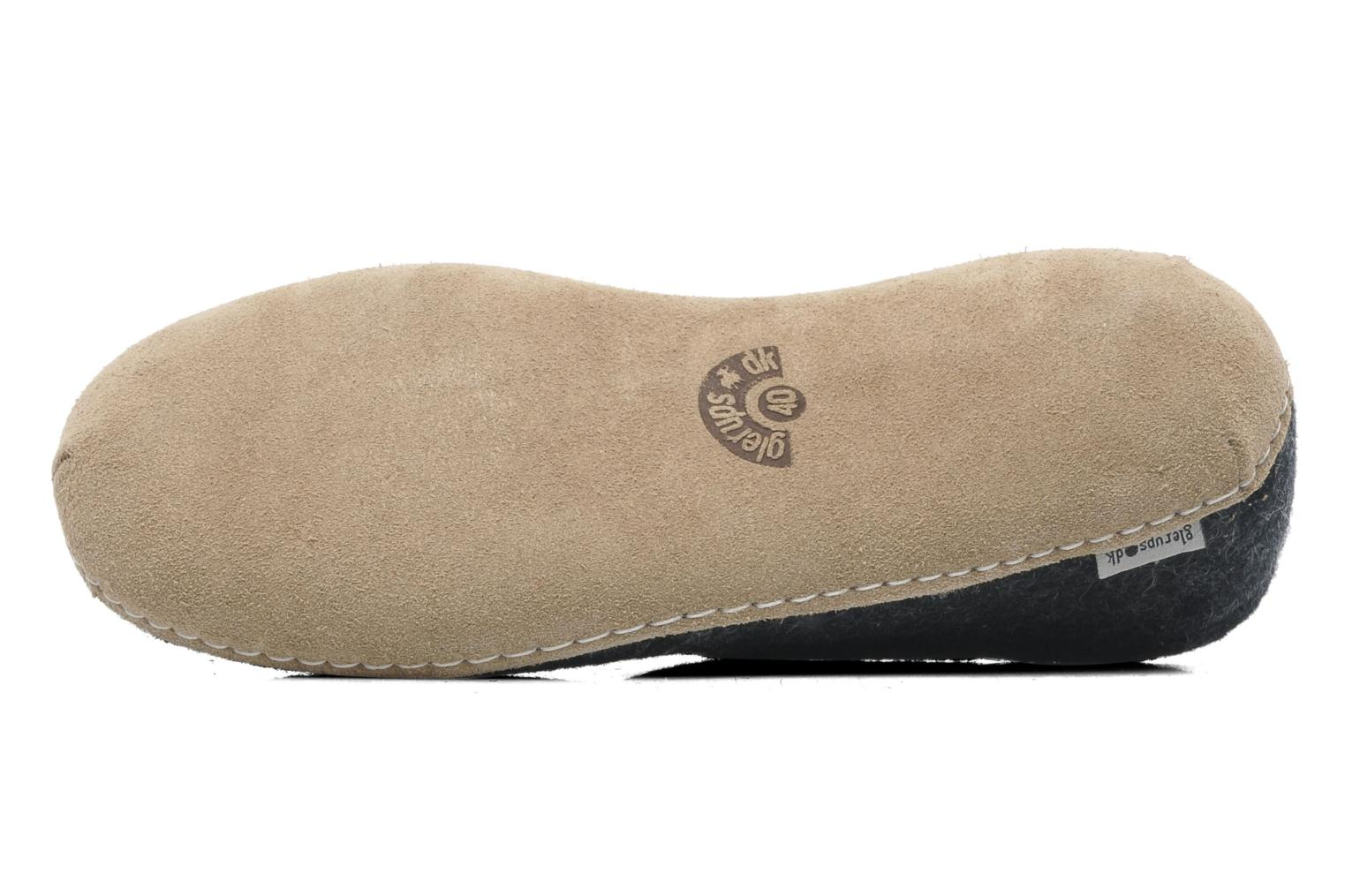 Slippers Glerups Porter M Grey view from above