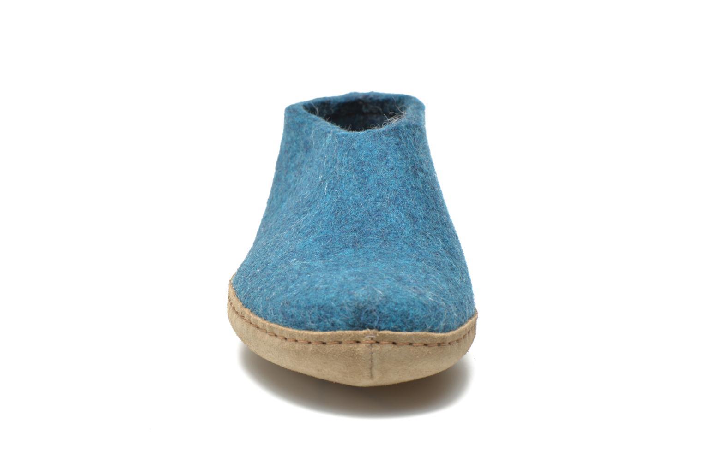 Slippers Glerups Porter M Blue model view