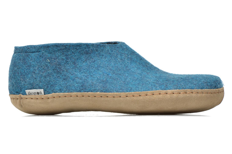 Slippers Glerups Porter M Blue back view