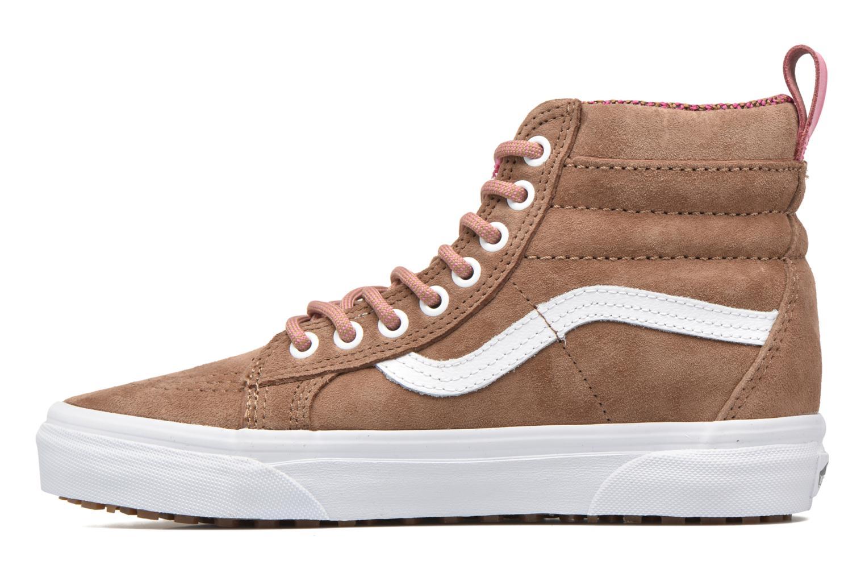 Sneaker Vans SK8-Hi MTE W braun ansicht von vorne