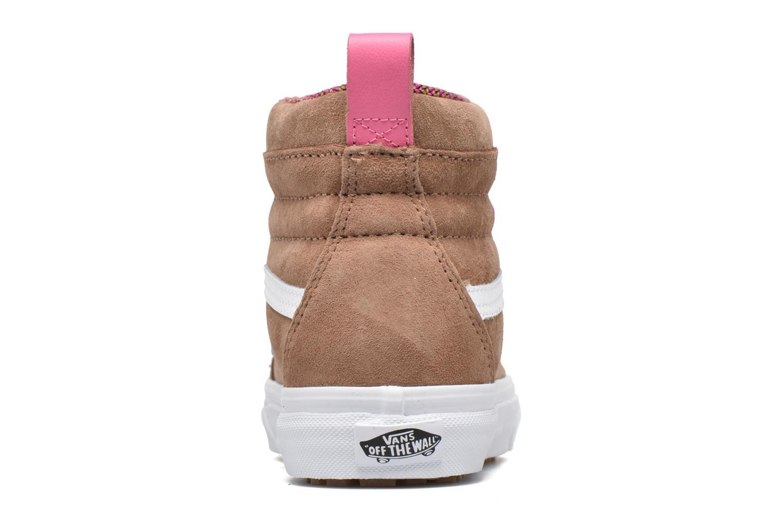 Sneaker Vans SK8-Hi MTE W braun ansicht von rechts