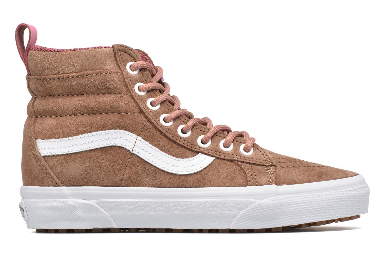 Sneaker Vans SK8-Hi MTE W braun ansicht von hinten
