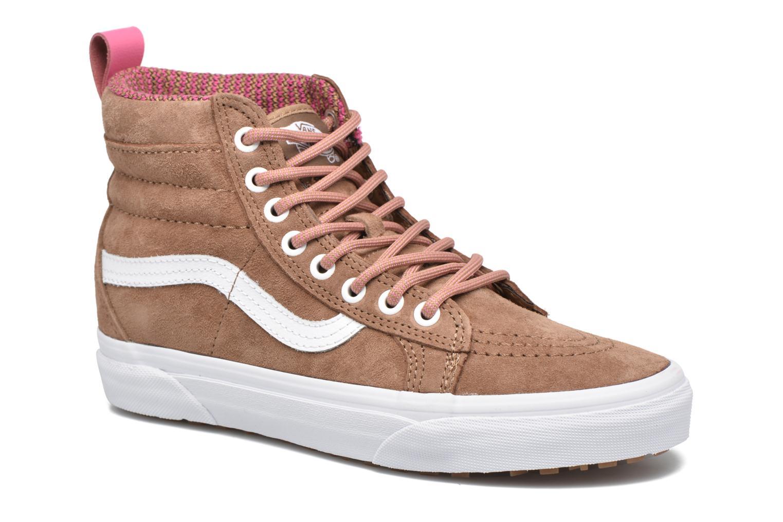 Sneaker Vans SK8-Hi MTE W braun detaillierte ansicht/modell
