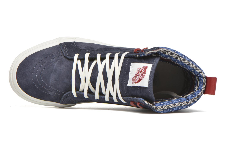Baskets Vans SK8-Hi MTE W Bleu vue gauche