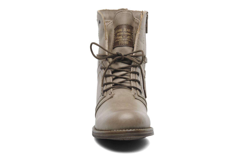 Stiefeletten & Boots Mustang shoes Bigz grau schuhe getragen