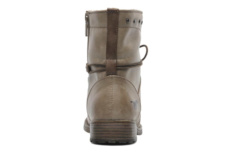 Stiefeletten & Boots Mustang shoes Bigz grau ansicht von rechts