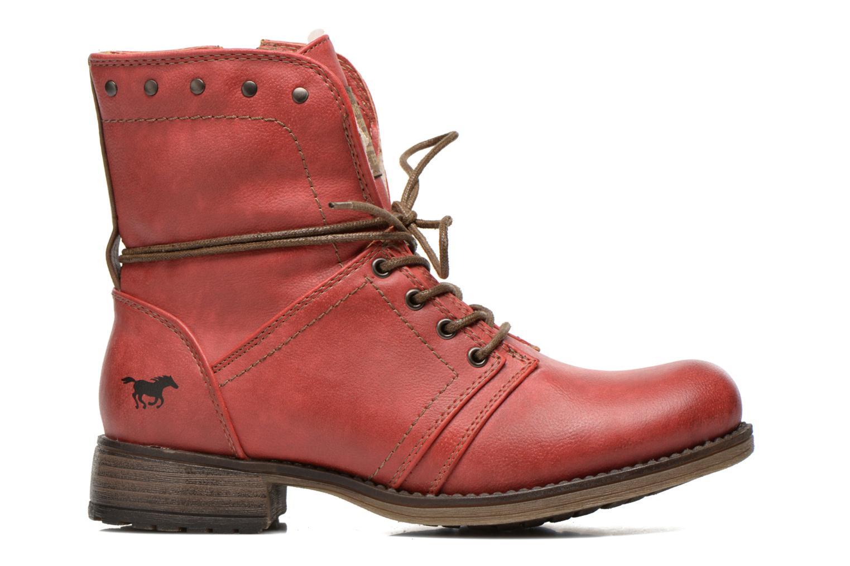 Bottines et boots Mustang shoes Bigz Rouge vue derrière