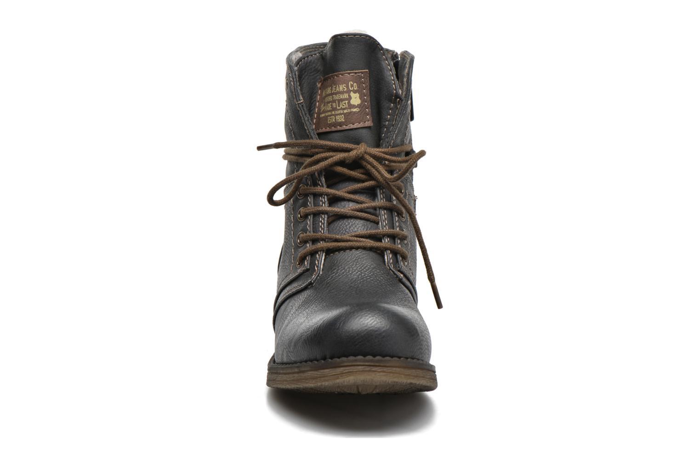 Bottines et boots Mustang shoes Bigz Gris vue portées chaussures