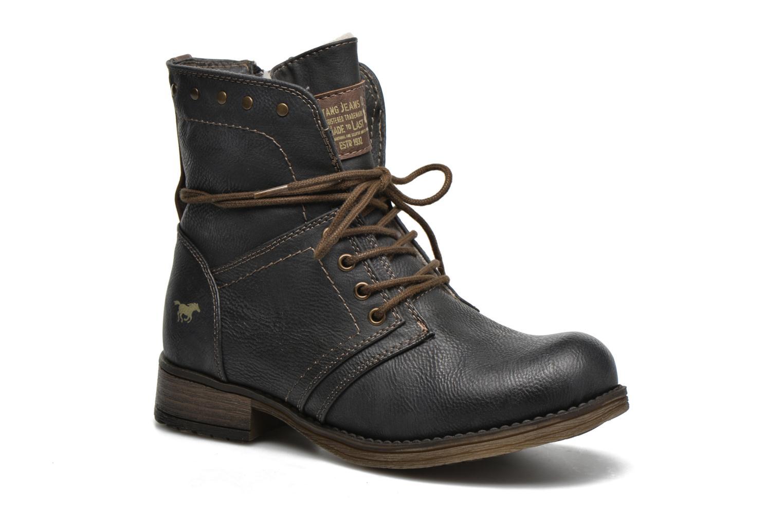 Bottines et boots Mustang shoes Bigz Gris vue détail/paire