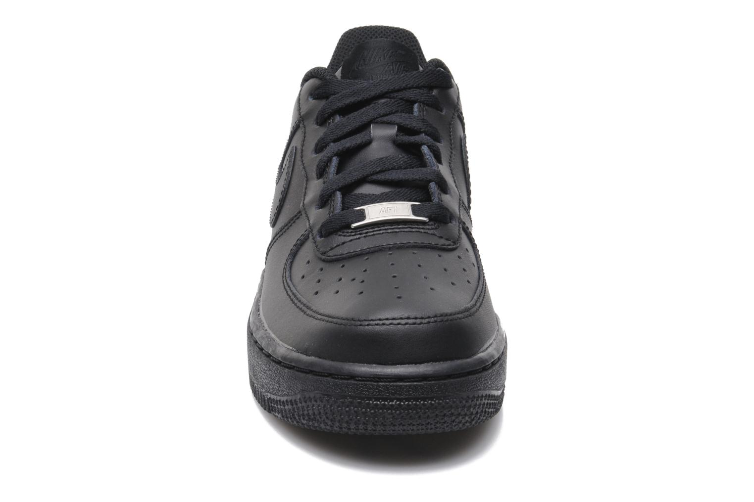 Air Force 1 (Gs) Black/black-Black