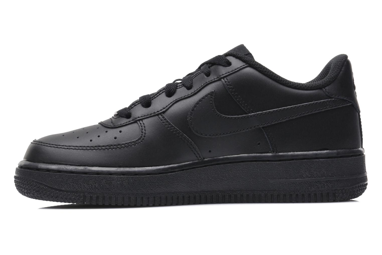Baskets Nike Air Force 1 (Gs) Noir vue face