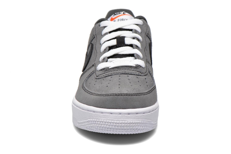 Sneaker Nike Air Force 1 (Gs) schwarz schuhe getragen