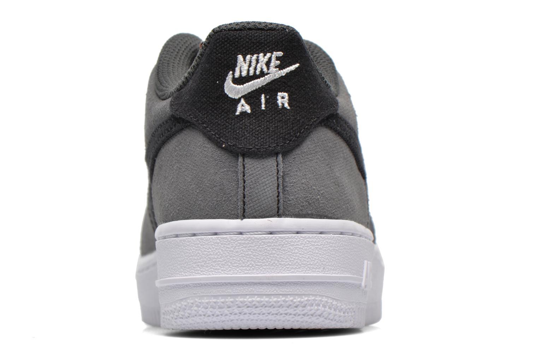 Sneaker Nike Air Force 1 (Gs) schwarz ansicht von rechts
