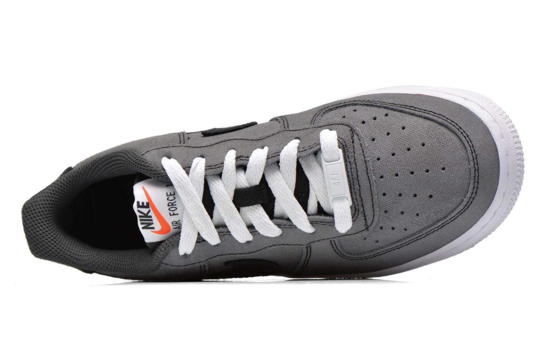 Sneaker Nike Air Force 1 (Gs) schwarz ansicht von links