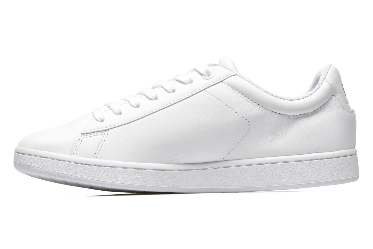 Baskets Lacoste Carnaby Evo Ctr Blanc vue face