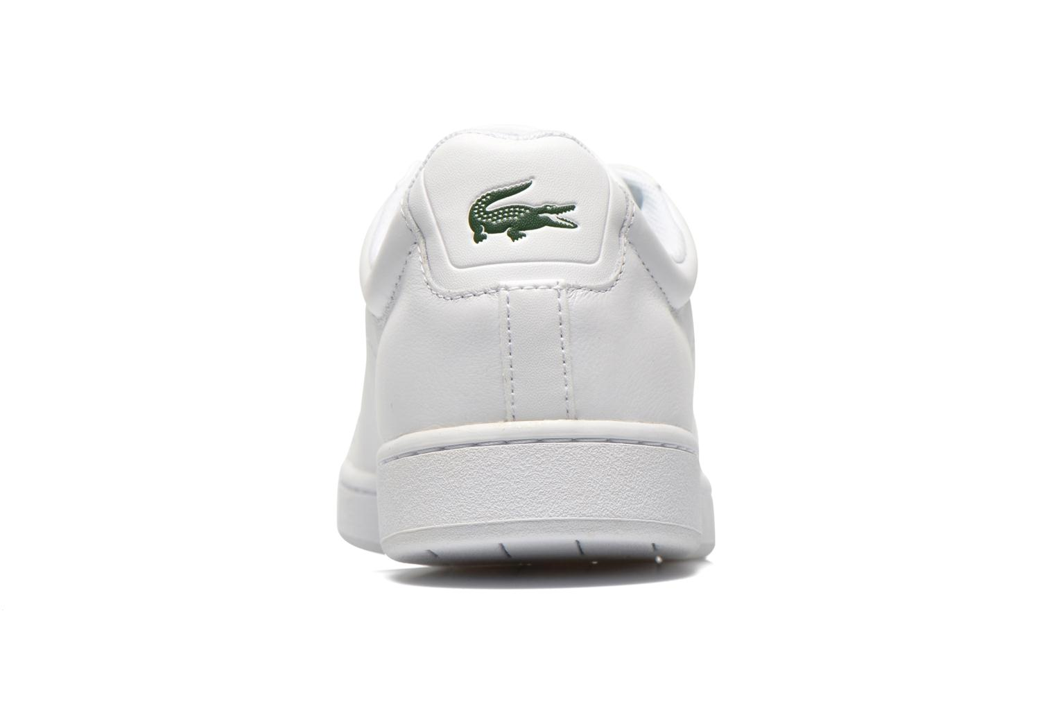 Baskets Lacoste Carnaby Evo Ctr Blanc vue droite