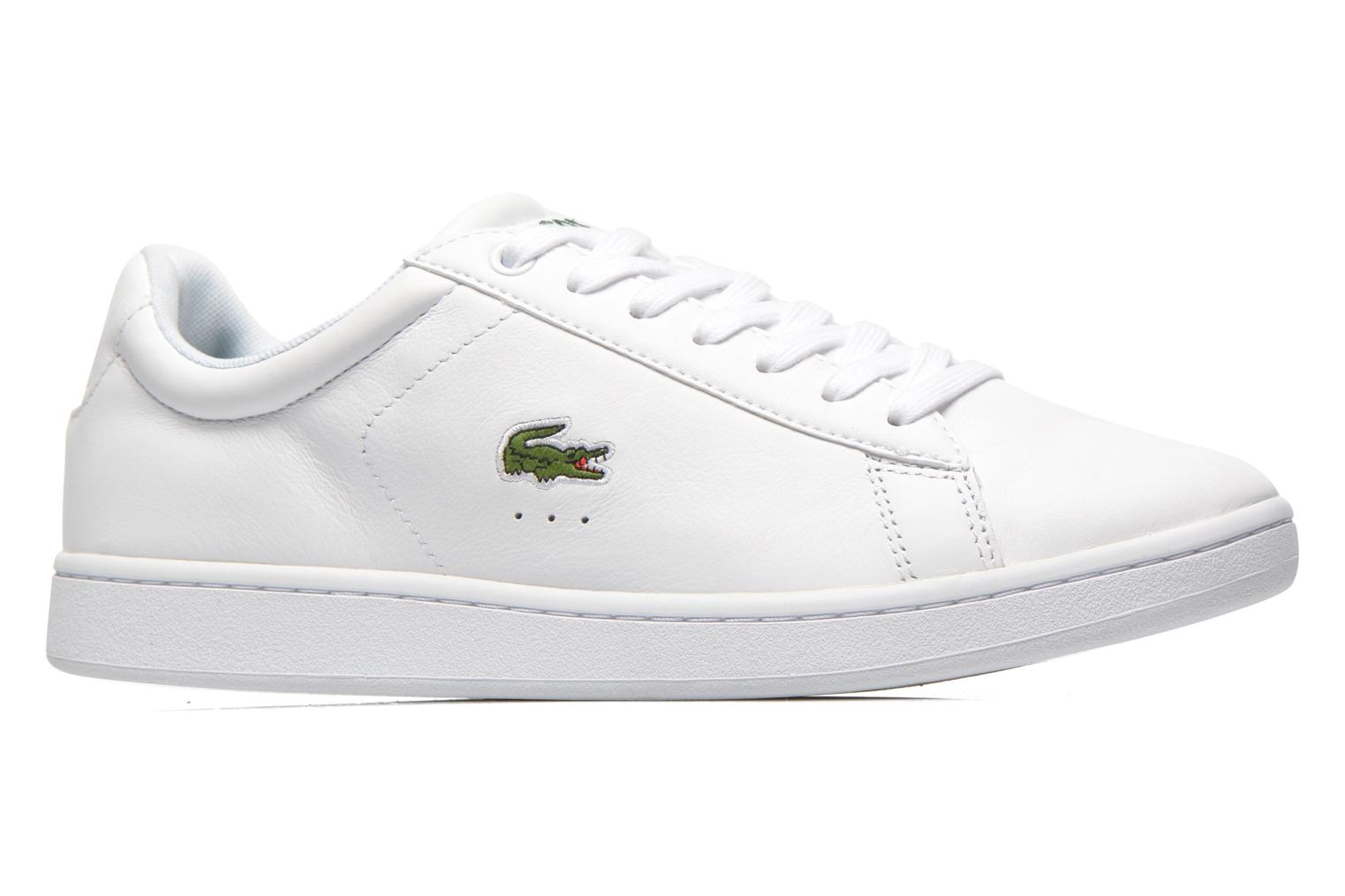 Baskets Lacoste Carnaby Evo Ctr Blanc vue derrière