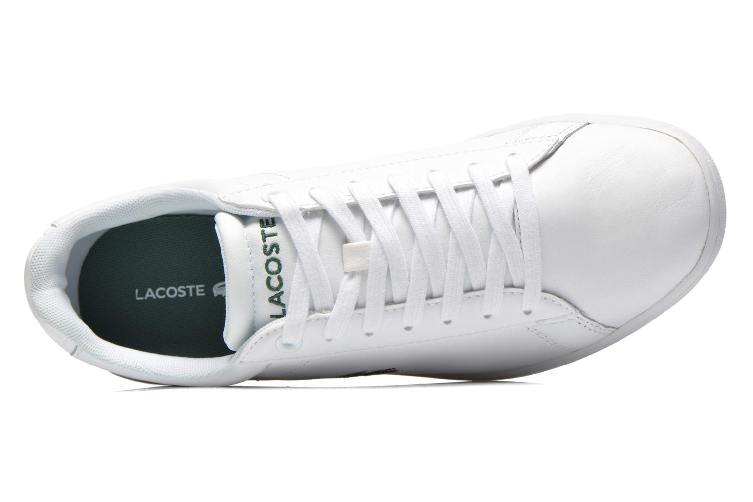 Baskets Lacoste Carnaby Evo Ctr Blanc vue gauche