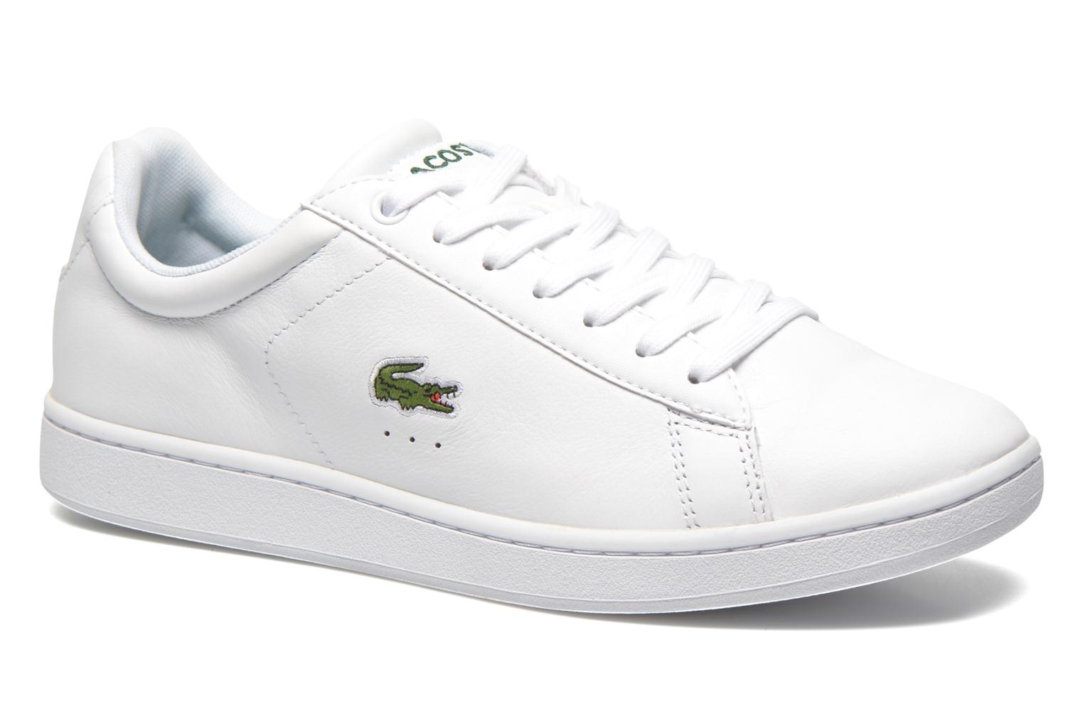 Baskets Lacoste Carnaby Evo Ctr Blanc vue détail/paire