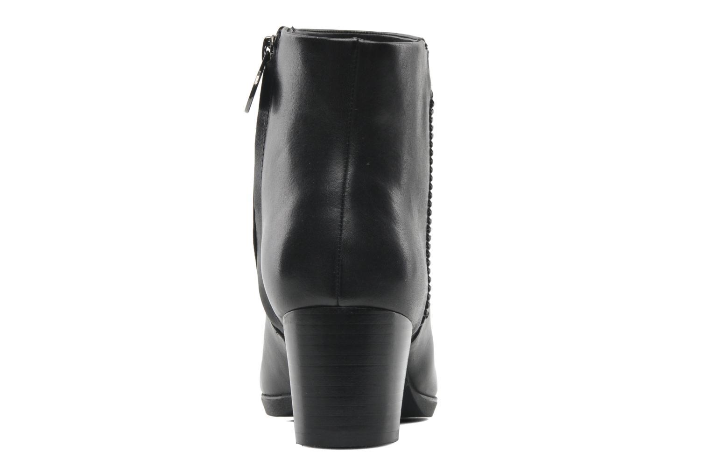 Boots en enkellaarsjes Geox D ERIKAH A D44G8A Zwart rechts
