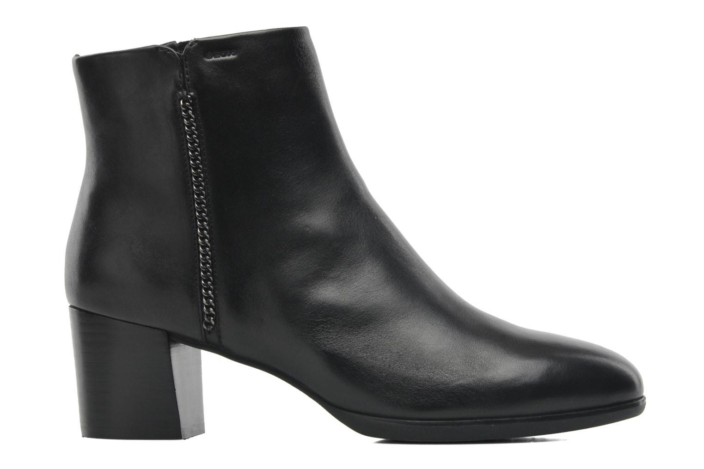 Boots en enkellaarsjes Geox D ERIKAH A D44G8A Zwart achterkant