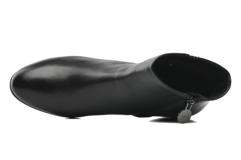 Boots en enkellaarsjes Geox D ERIKAH A D44G8A Zwart links