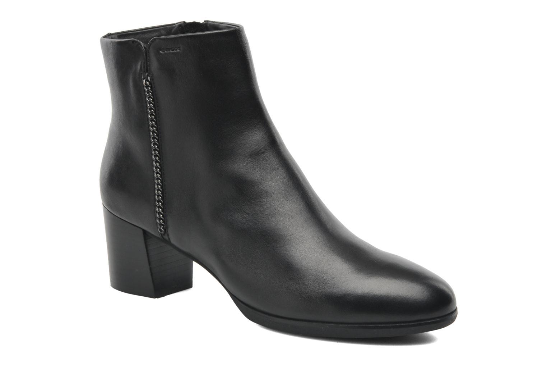 Boots en enkellaarsjes Geox D ERIKAH A D44G8A Zwart detail
