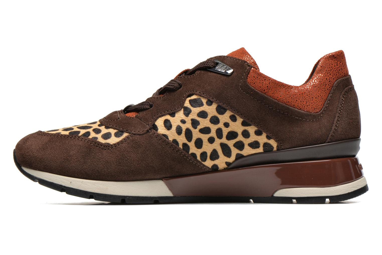 Sneakers Geox D SHAHIRA A D44N1A Bruin voorkant