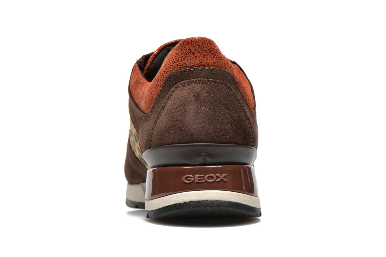 Sneakers Geox D SHAHIRA A D44N1A Bruin rechts